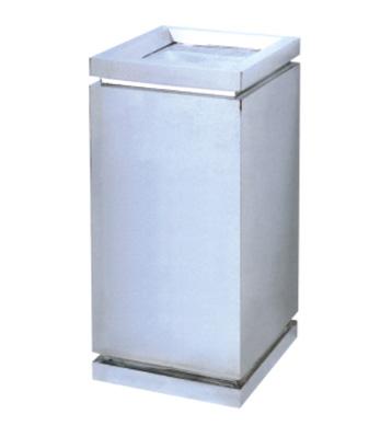 室内不锈钢方形垃圾桶