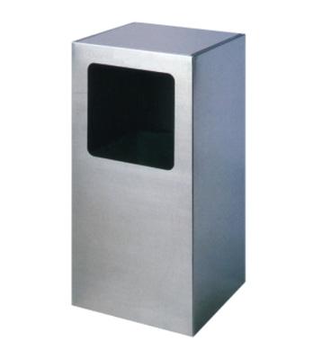 商场方形不锈钢垃圾桶
