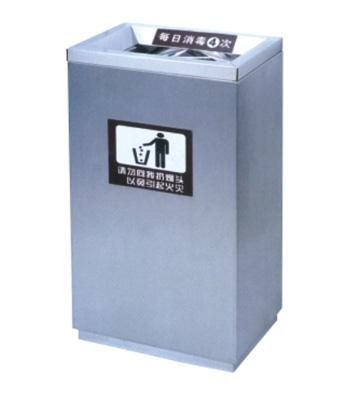 医疗室内长方形不锈钢垃圾桶