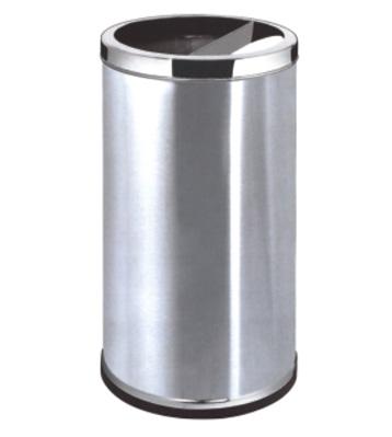 不锈钢港式直投式垃圾桶