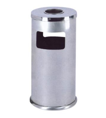 不锈钢圆形垃圾桶