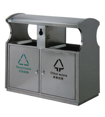 户外不锈钢环卫垃圾桶