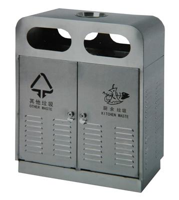 不锈钢环卫垃圾箱