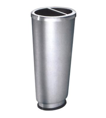 不锈钢椭圆锥体烟灰桶主图