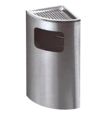 不锈钢扇形座地烟灰桶