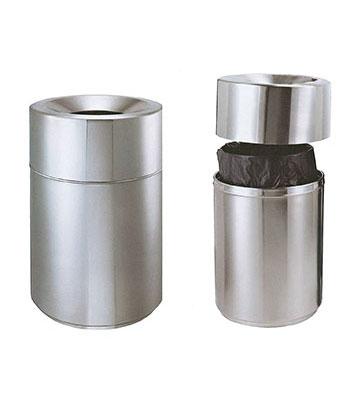 不锈钢商场垃圾桶