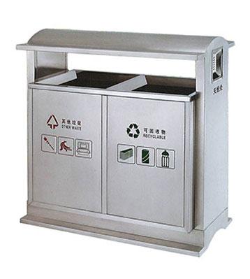 不锈钢地铁用垃圾桶