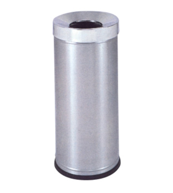 不锈钢高头斜口烟灰桶