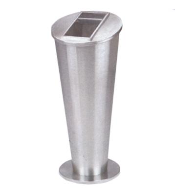 不锈钢圆锥座地烟灰桶