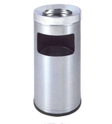 室内立式单筒不锈钢烟灰桶