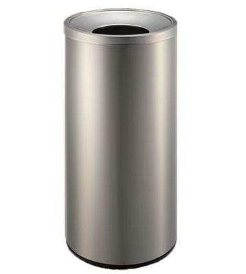 不锈钢废纸垃圾桶