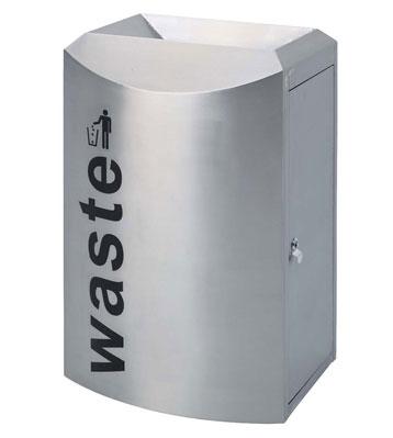 不锈钢机场垃圾桶