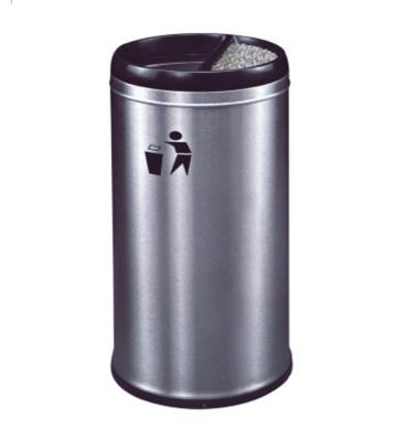 港式不锈钢圆形垃圾桶
