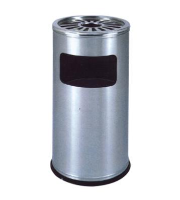 菊花格不锈钢圆形垃圾桶
