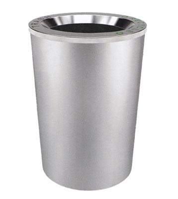 不锈钢斜口垃圾桶