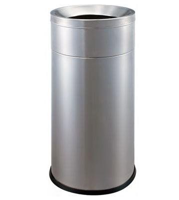 不锈钢立式斜口垃圾桶