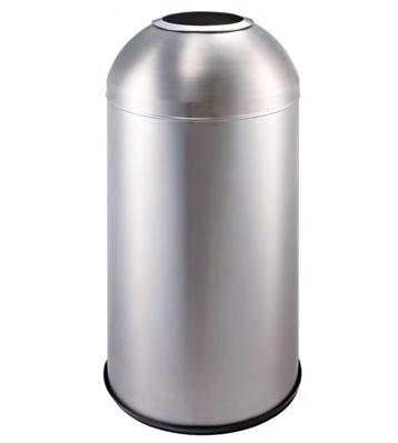 不锈钢子弹头式垃圾桶