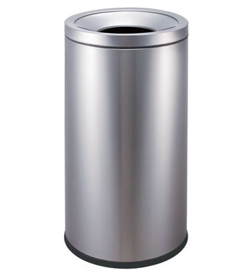 不锈钢商务斜口垃圾桶