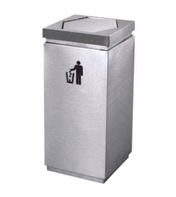 方形单桶不锈钢烟灰桶