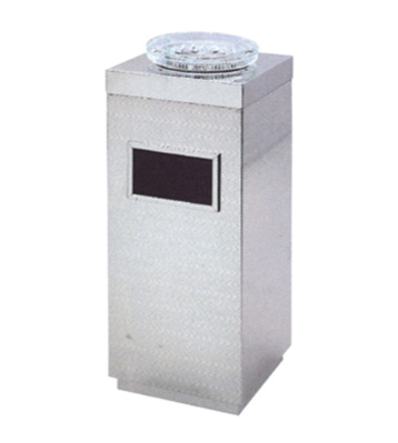 方形不锈钢压花烟灰桶