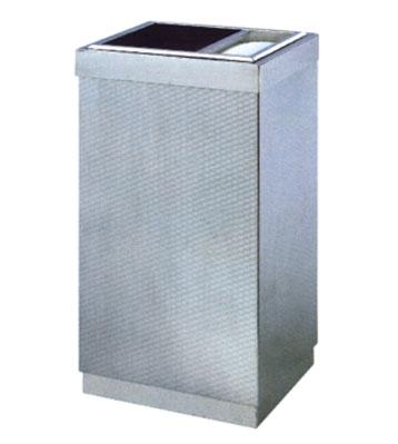 立式室内不锈钢方形垃圾桶