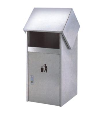 金字塔形不锈钢垃圾桶