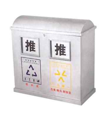 不锈钢垃圾分类回收箱主图