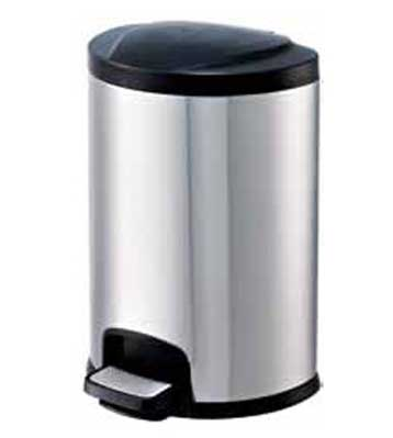 20L20L宾馆不锈钢脚踏式垃圾桶