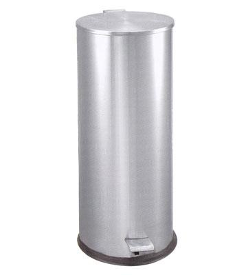 不锈钢酒店室内脚踏式垃圾桶