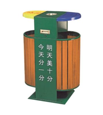 小区园林垃圾桶