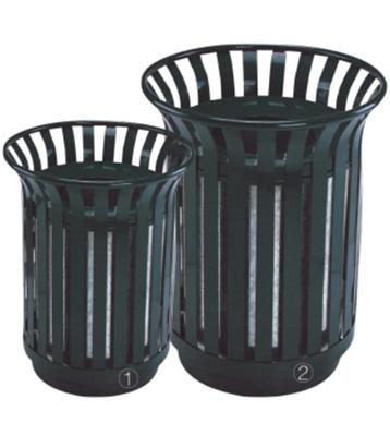 花篮式户外钢制垃圾桶