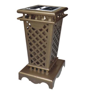 户外工艺钢制垃圾桶