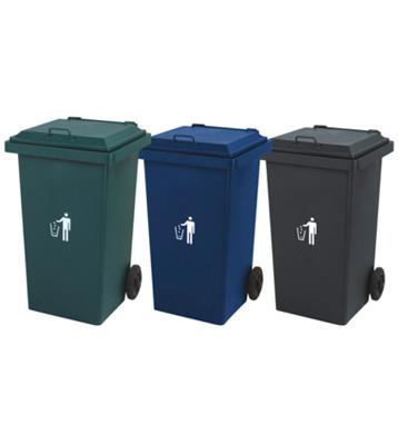 户外钢制环卫垃圾桶