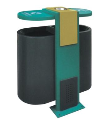 烤漆分类钢制垃圾箱