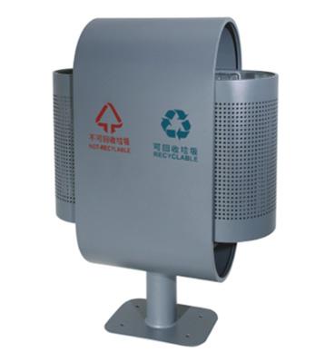麦克风式分类钢制垃圾桶