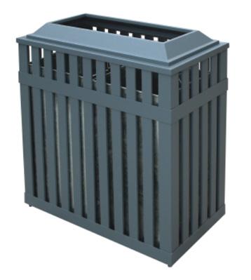 栅栏式分类钢制垃圾箱