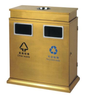 酒店分类钢制垃圾桶