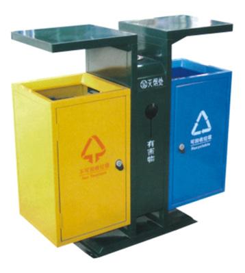 市政定制环保钢制垃圾桶
