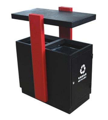 校园分类钢制垃圾箱主图