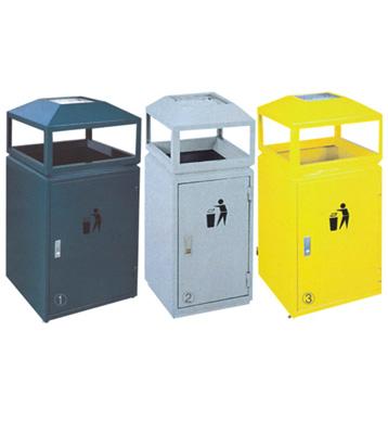 室内屋形钢制垃圾桶