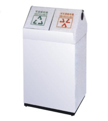 商场分类钢制垃圾箱