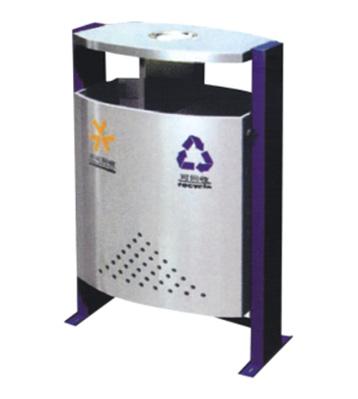 带烟缸分类钢制垃圾桶