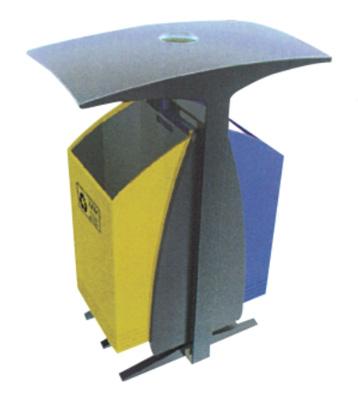 T型户外分类垃圾桶