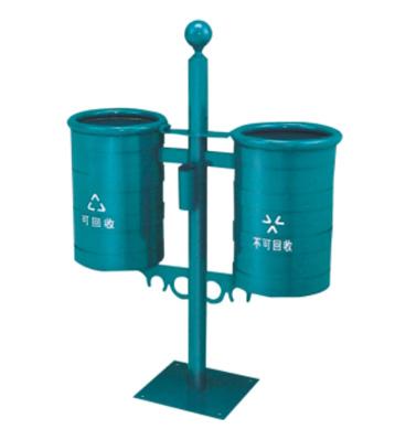 路灯式户外分类垃圾桶