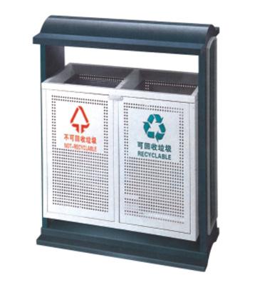 景区分类户外钢制垃圾箱