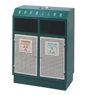 街道分类钢制垃圾箱