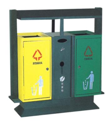 绿色环保钢制垃圾桶