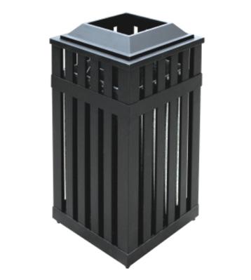 户外镂空钢制垃圾桶