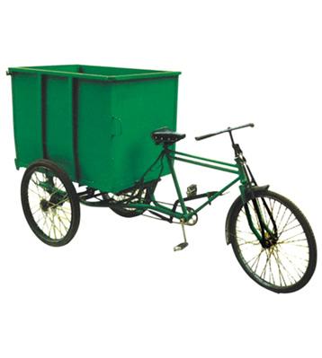 脚蹬三轮垃圾车