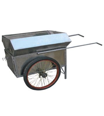 不锈钢手推垃圾车